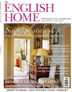 English Home Nov 14 Cover