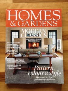 Homes & Gardens Cover Oct 14